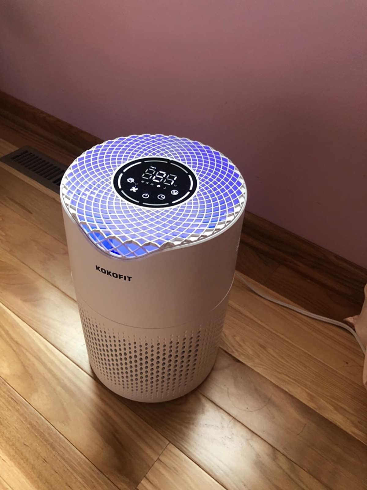 reviewer image of the kokofit air purifier