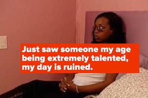 """Tiffany Pollard mad, captioned, """"Just saw someone my age being extremely talented, my day is ruined"""""""