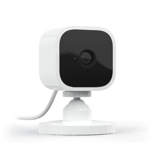 Blink Mini — compact indoor plug-in smart security camera