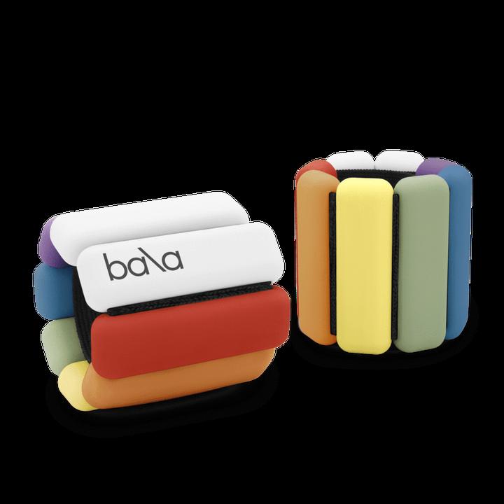 Two Bala Bangles in rainbow