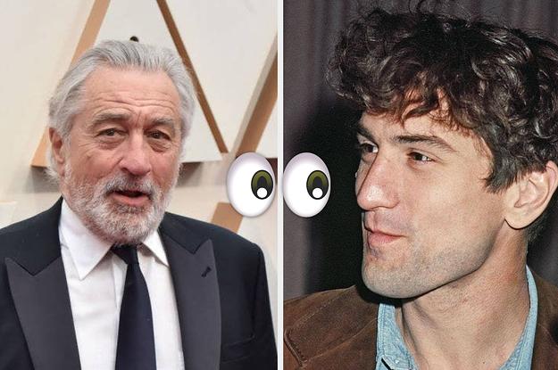 31 Schauspieler heute und früher – als sie viel, viel jünger waren