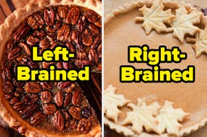 pecan pie with the text
