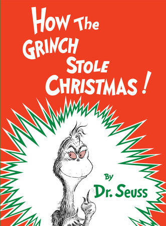 A copy of the book how the grinch stole christmas