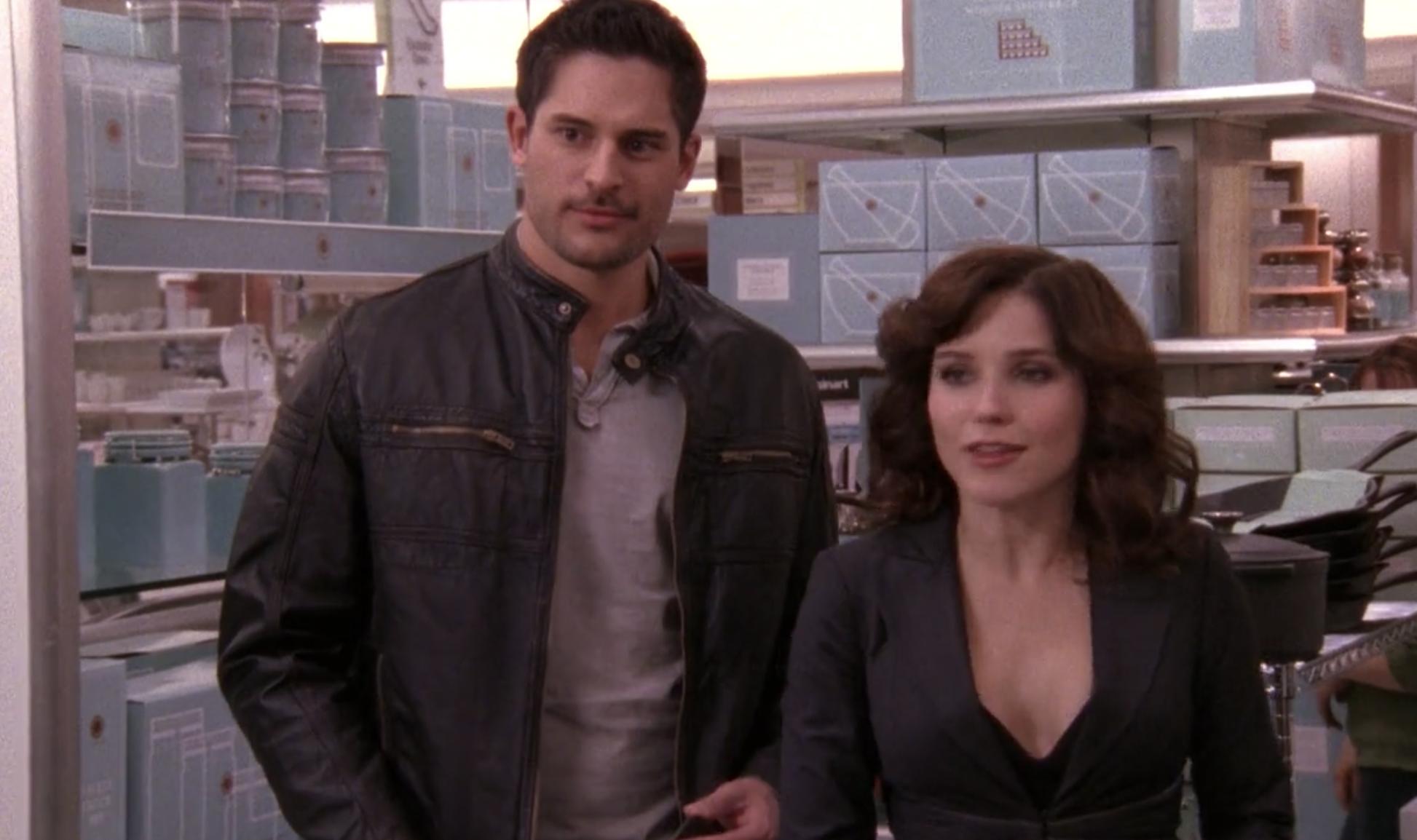 Owen and Brooke at Macy's