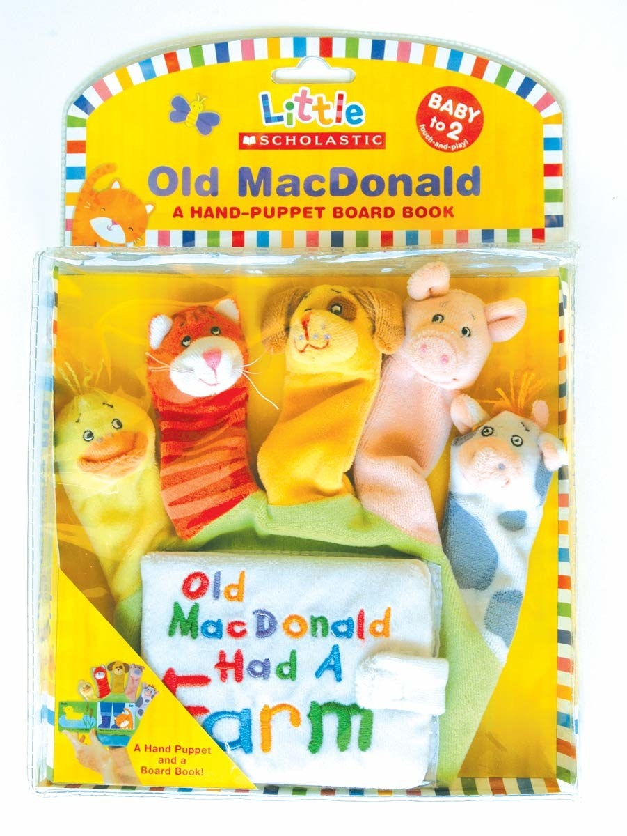 hand-puppet board book