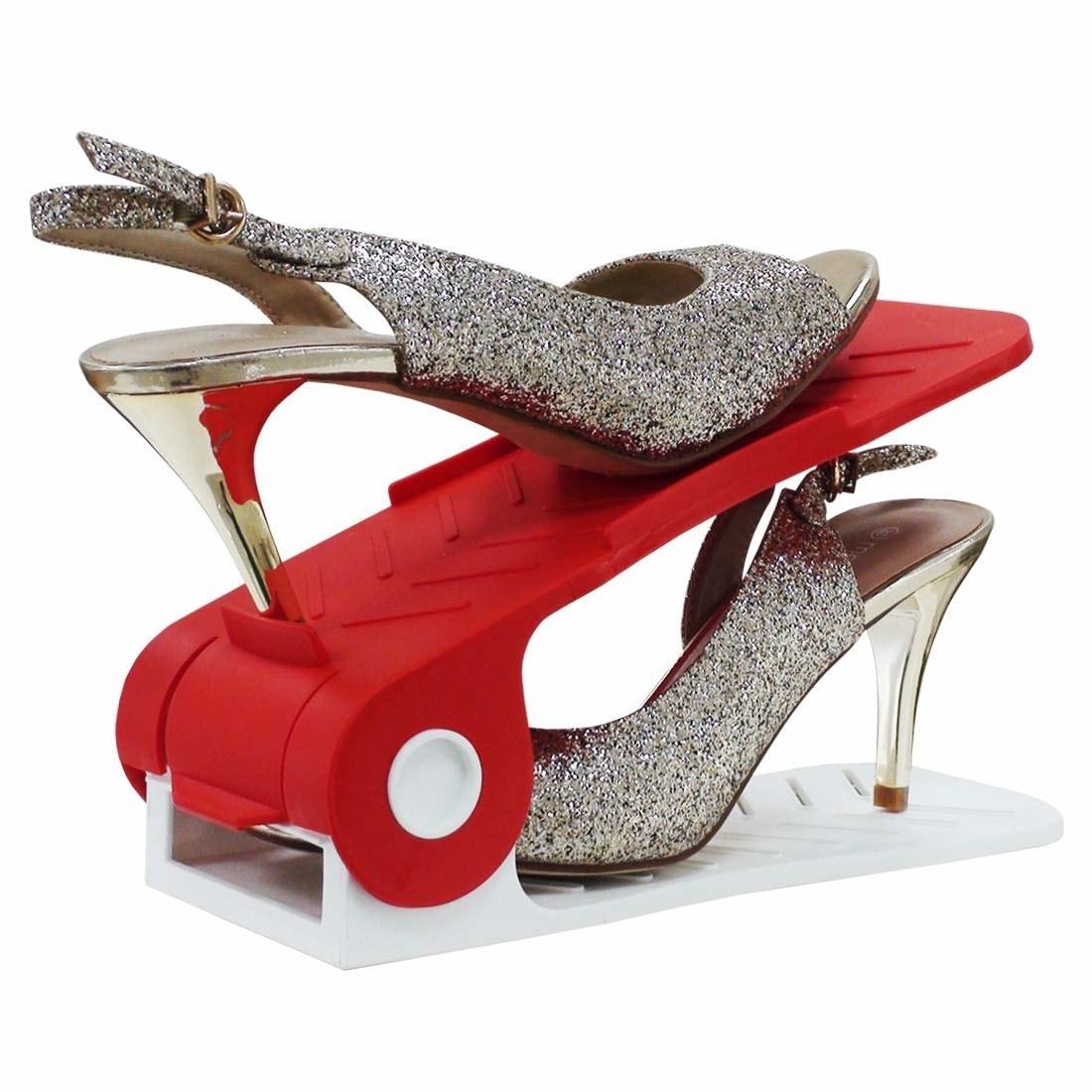 Shoe organiser with heels
