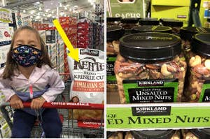Costco snack products