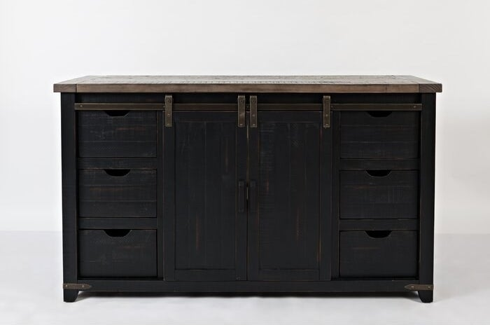 the gracie oaks westhoff wood credenza