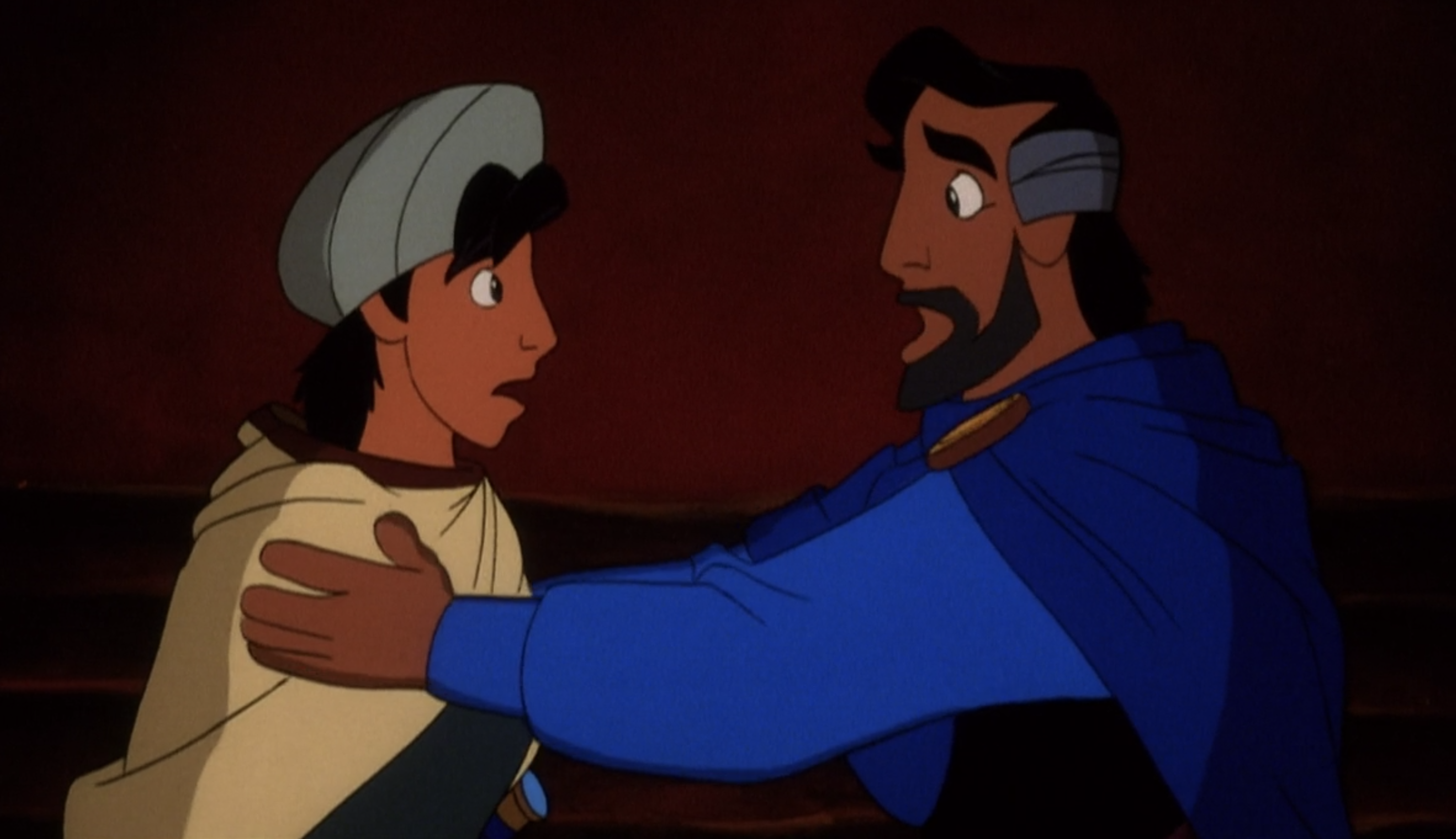 Aladdin and his long lost father