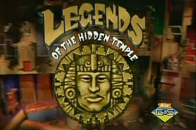"A screenshot of the logo for ""Legends of the Hidden Temple."""