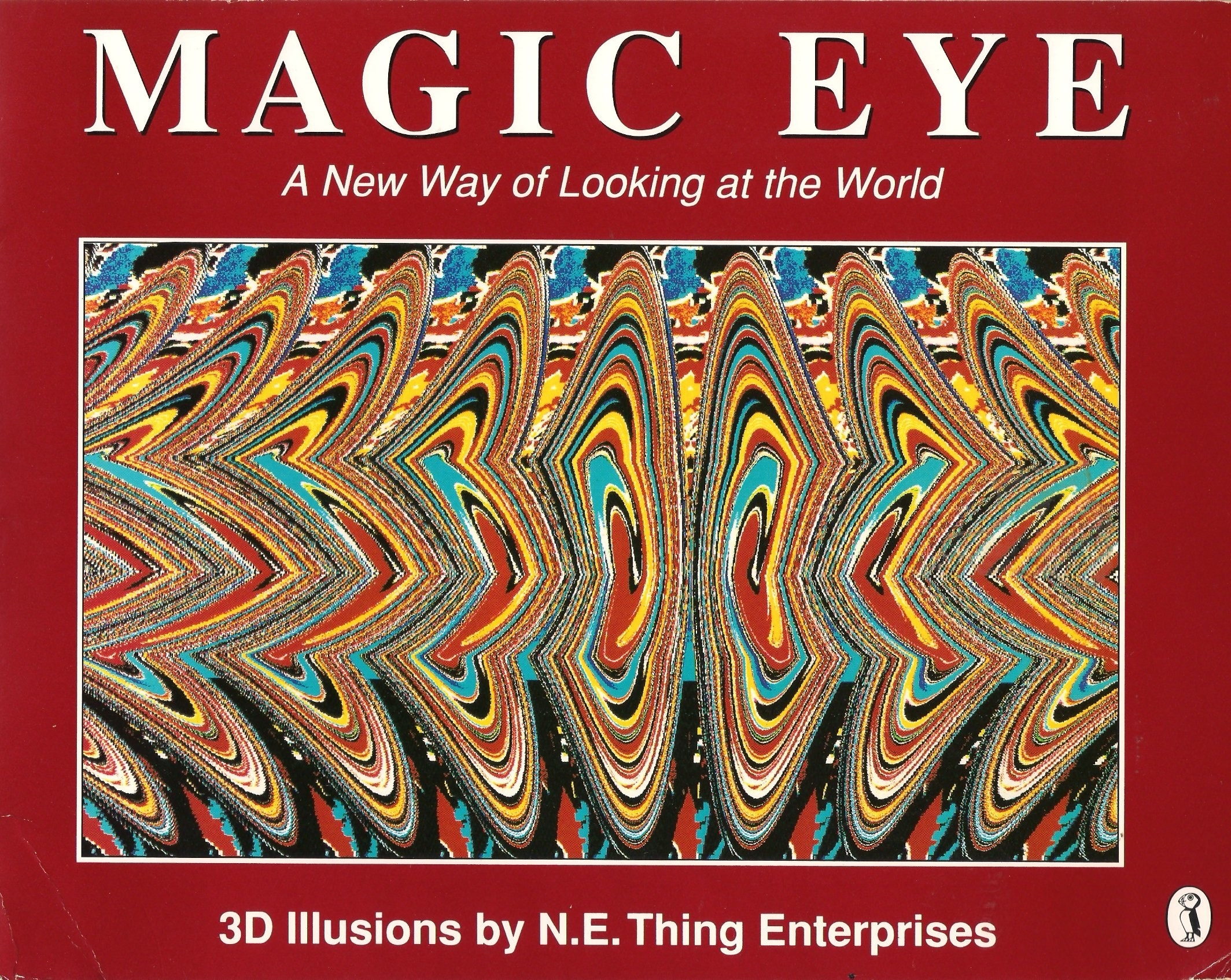 "The book cover for the ""Magic Eye"" book."