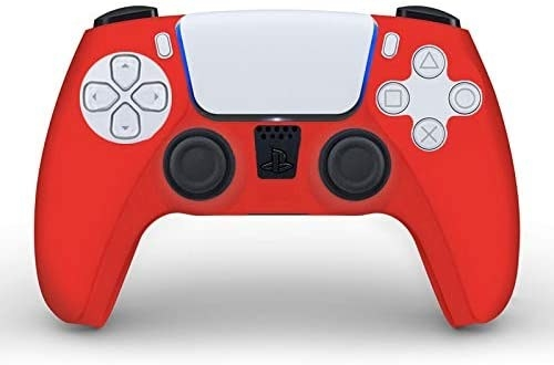 A silicone skin that fits around the controller like a glove