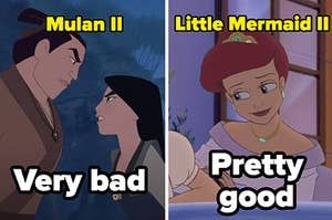 Mulan 2 and The Little Mermaid 2