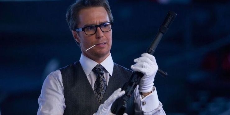 Justin assembling a powerful gun