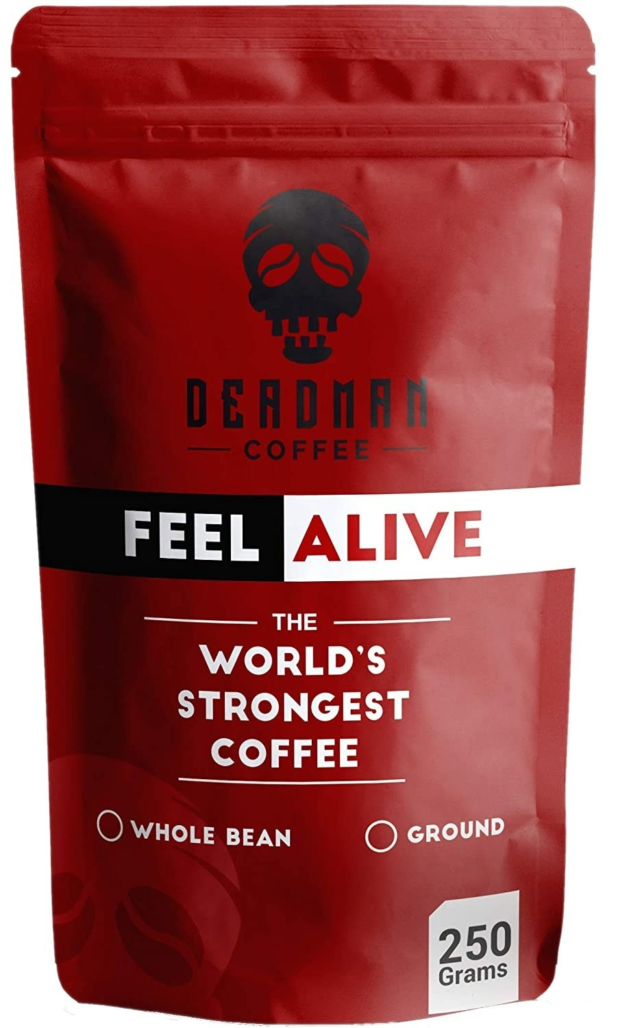 World's strongest coffee packaging
