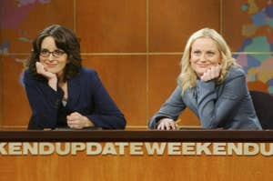 Tina Fey and Amy Poehler on SNL's