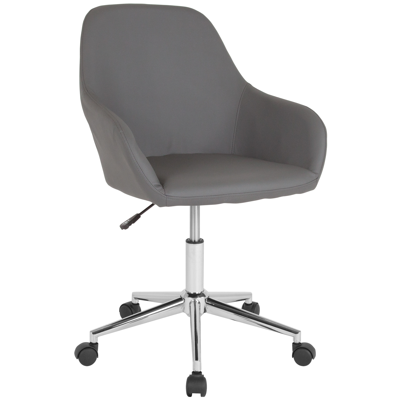 The grey bucket chair