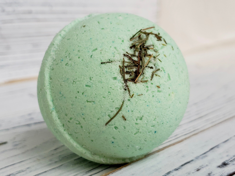 the green bath bomb