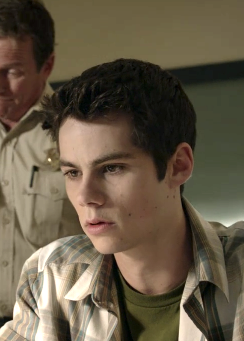 Stiles with longer hair that's spiked a tiny bit up