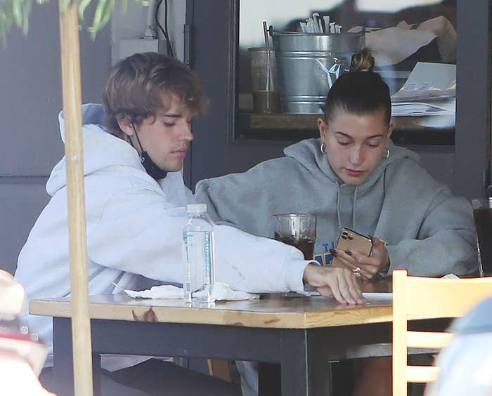 Justin Bieber and Hailey Bieber seen out for lunch