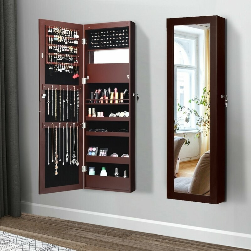 The mounted jewelry armoire