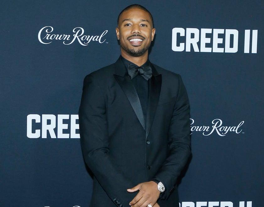 "Michael B. Jordan attends ""Creed II"" New York Premiere"