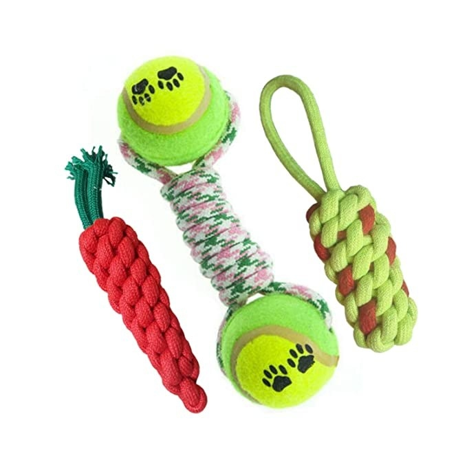 Rope chew toys.
