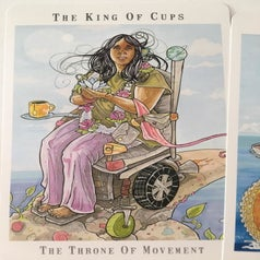 reviewer image of the king of cups