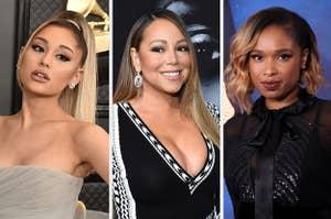 Ariana Grande, Mariah Carey, and Jennifer Hudson