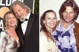 Jeff Bridges then and now
