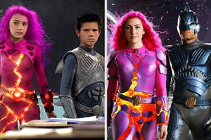 Sharkboy and Lavagirl in 2005 vs today
