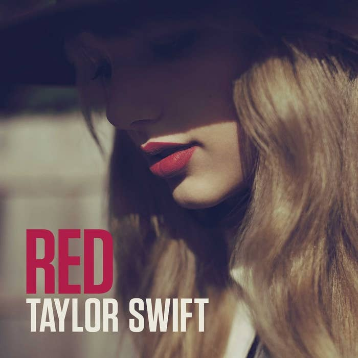 The album art for Taylor Swift's Red