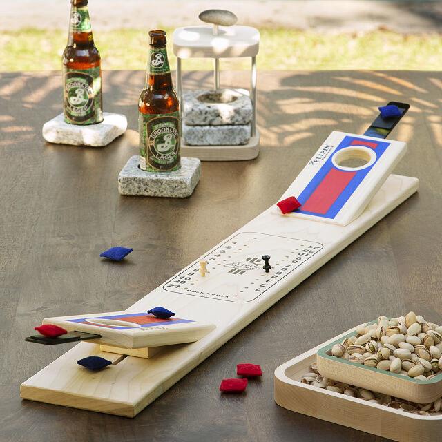 tabletop cornhole game