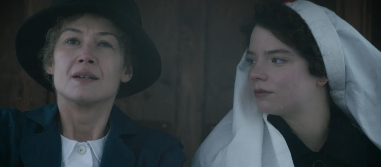 Rosamund Pike and Anya