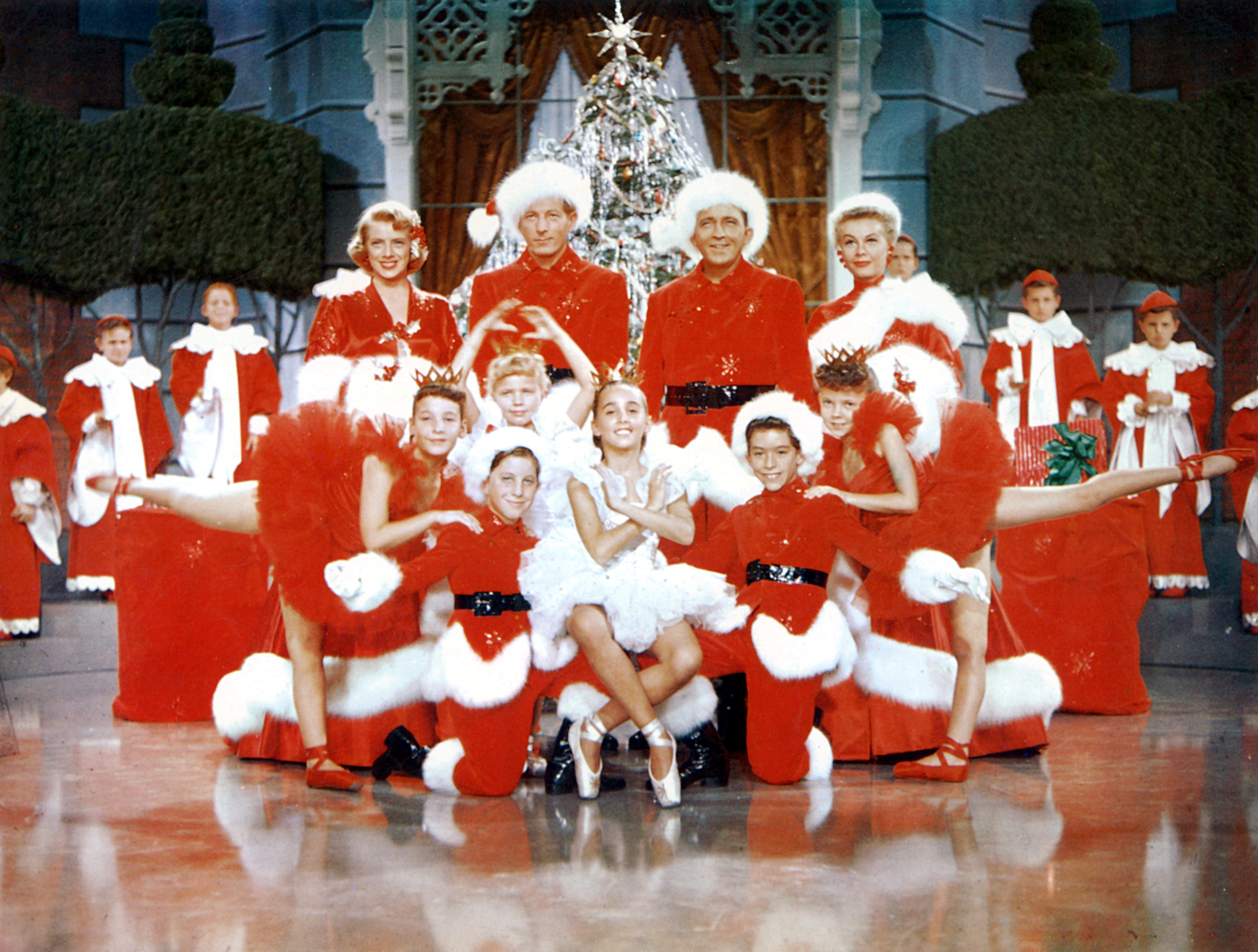 A still from Irving Berlin's White Christmas