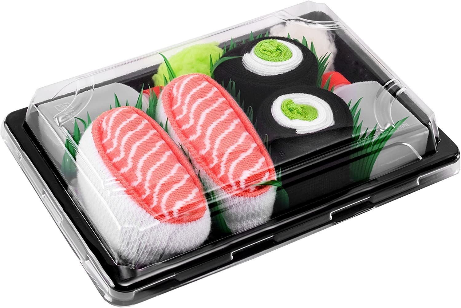 Sushi socks in a box