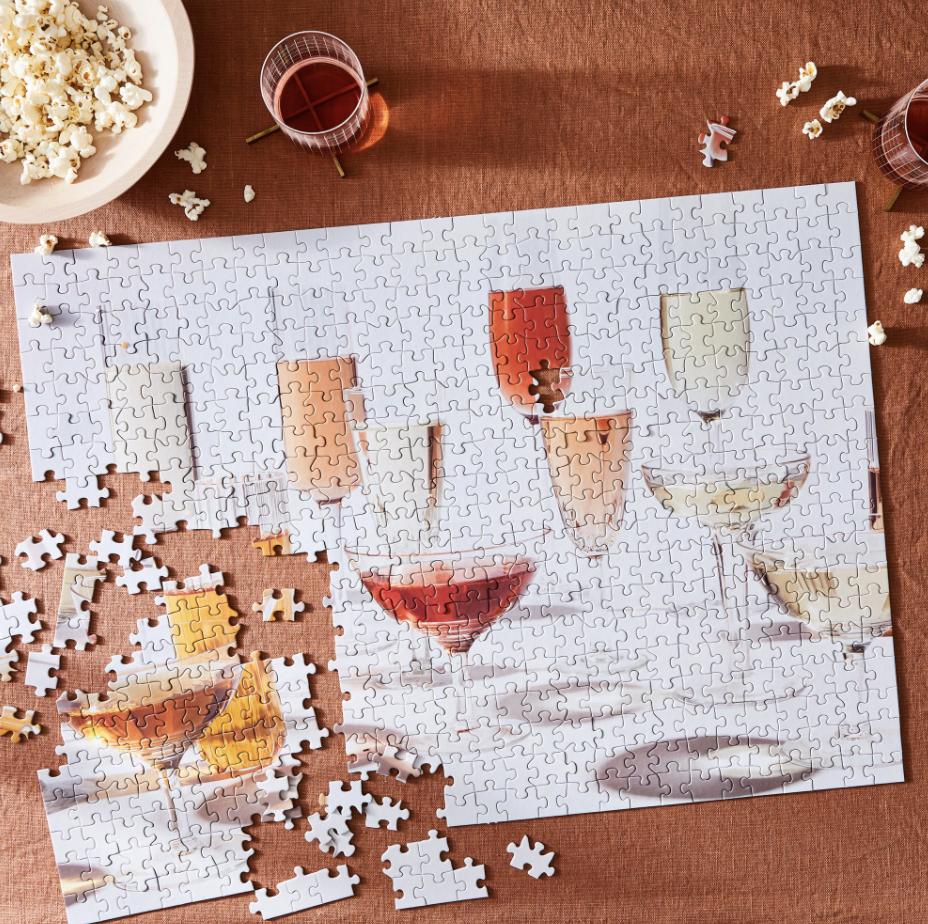 Wine jigsaw puzzle
