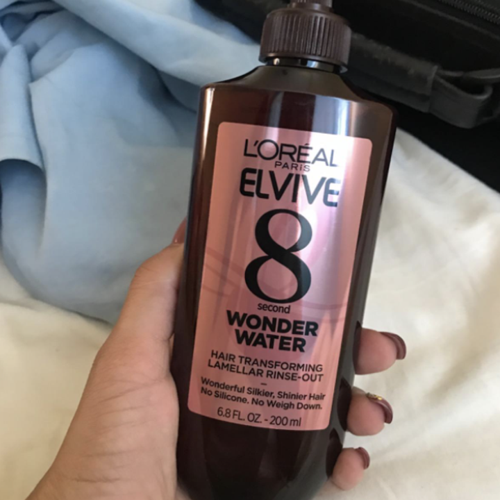 Reviewer photo of Wonder Water in hand