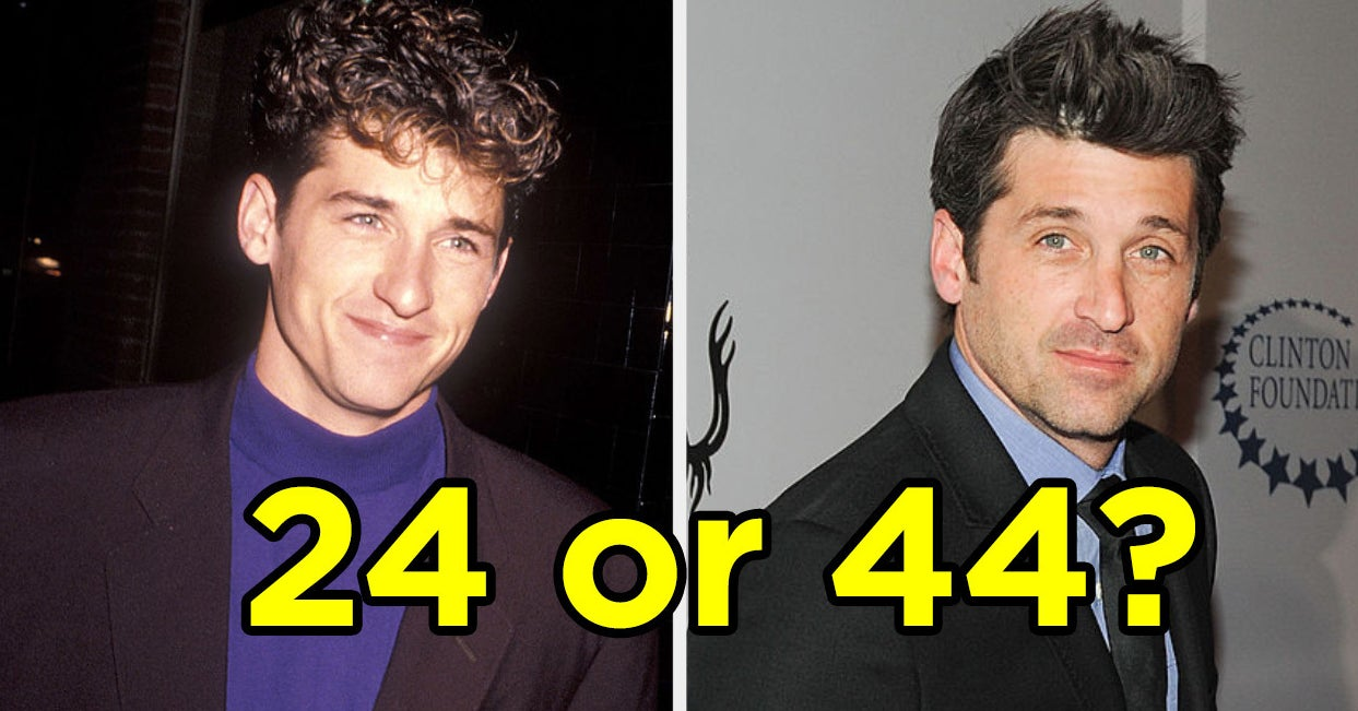"""This """"Would You Rather"""" For Famous Hot Guys In Their Forties Vs. Their Twenties Will Have You Completely Torn"""