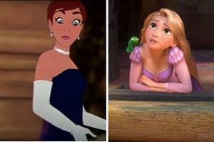 Anastasia and Rapunzel
