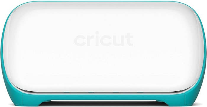 the blue and white cricut