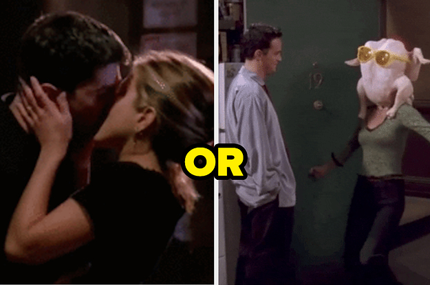 Are You More Like Ross And Rachel Or Monica And Chandler?