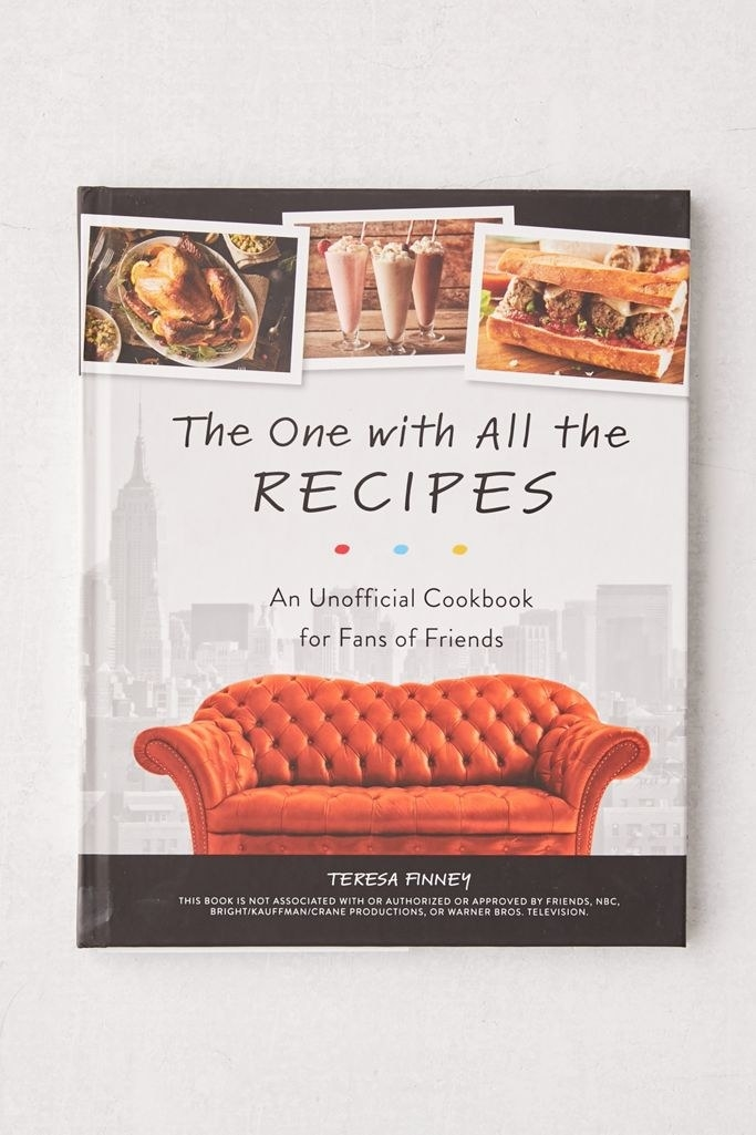 the 'Friend's' cookbook