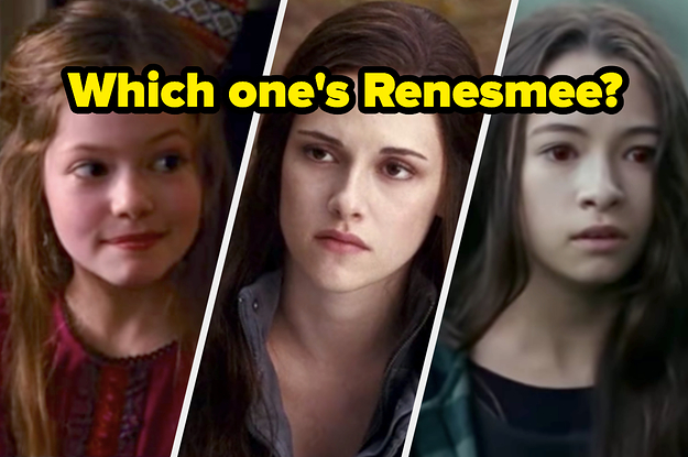 """Actual """"Twilight"""" Experts Will Be Able To Point Out At Least 40/45 Of These Characters"""