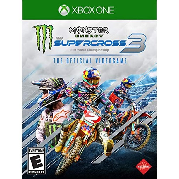 monster energery supercross 3 the official videogame