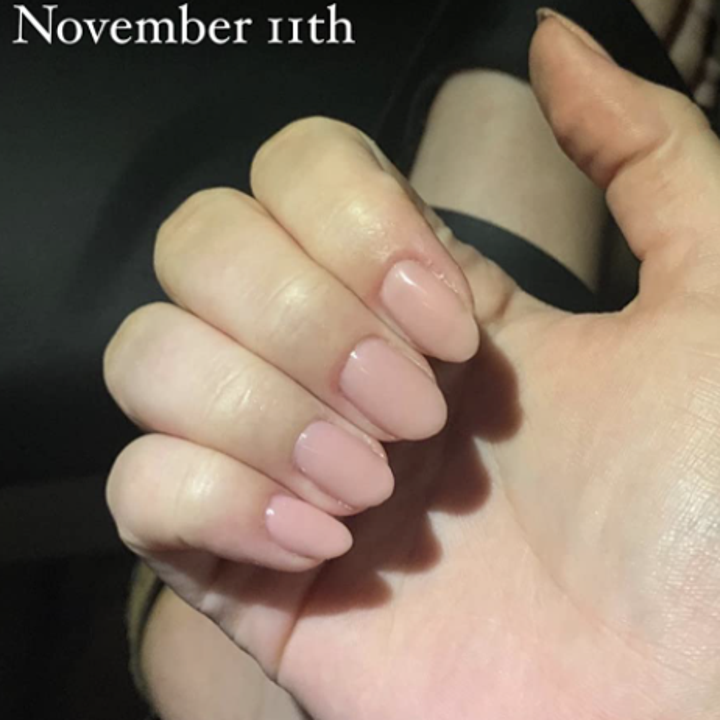 Reviewer after photo of nails