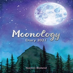 the cover of moonology diary 2021