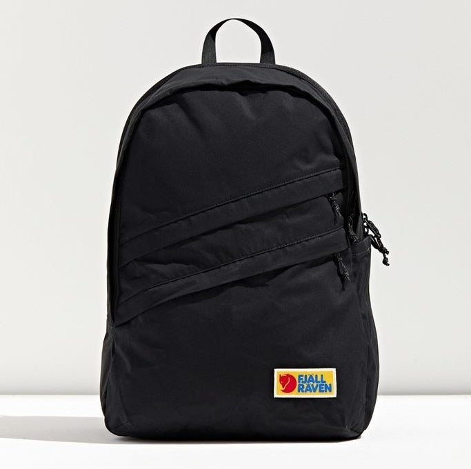 the fjallraven backpack in black