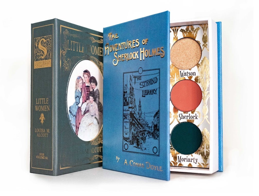 The two book-shaped palettes