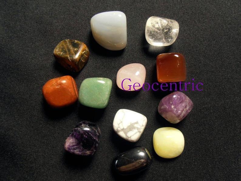 The 12 healing stones